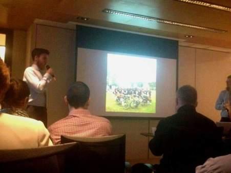 Talk at the Royal Geographical Society of Hong Kong